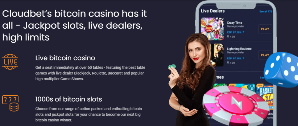 Cloudbet Live Betting & Events