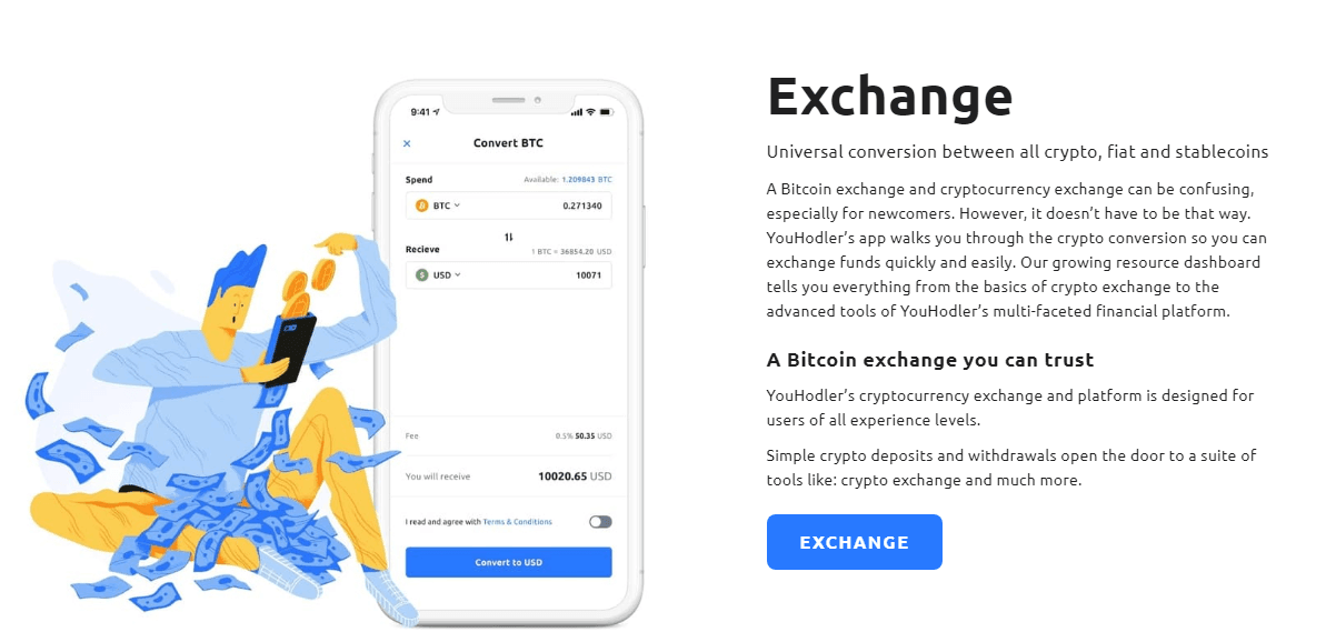 YouHodler Review - Exchange Service by YouHodler